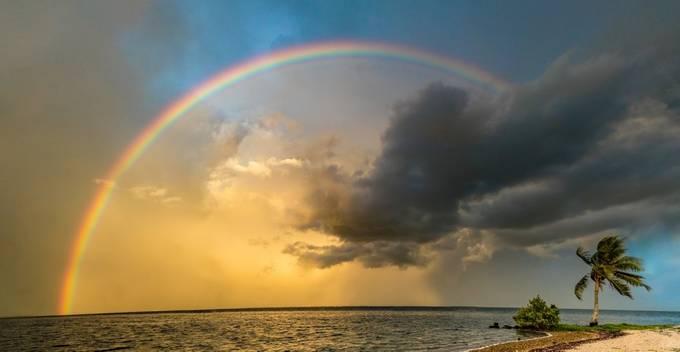 Dorthy's Rainbow by cathos1244 - Rainbows Overhead Photo Contest