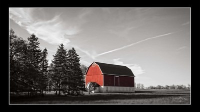 Red Barn in Wisconsin