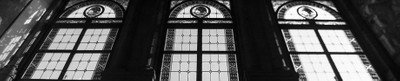 Abstract: 2x1 Focus. Stained-glass windows. Part one