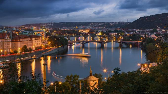 Vltava River by Rodrigueelhajj - Canals Photo Contest