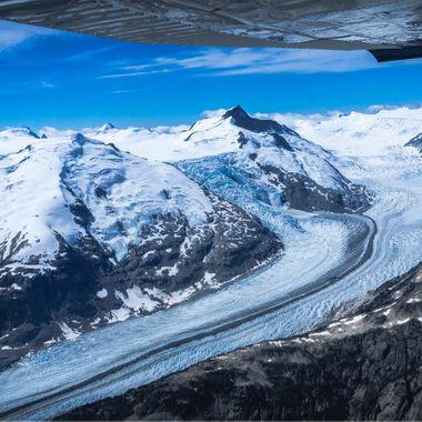 Lillooet Glacier - vast galcier field just north of Vancouver, Canada