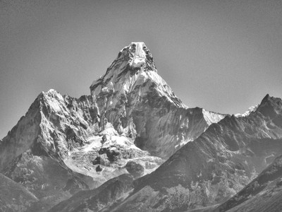 Island Peak, Everest