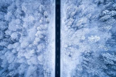 A Frosty Road
