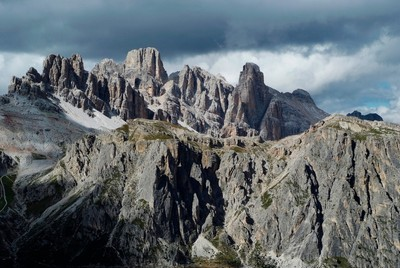 The group of Fanis, Dolomites