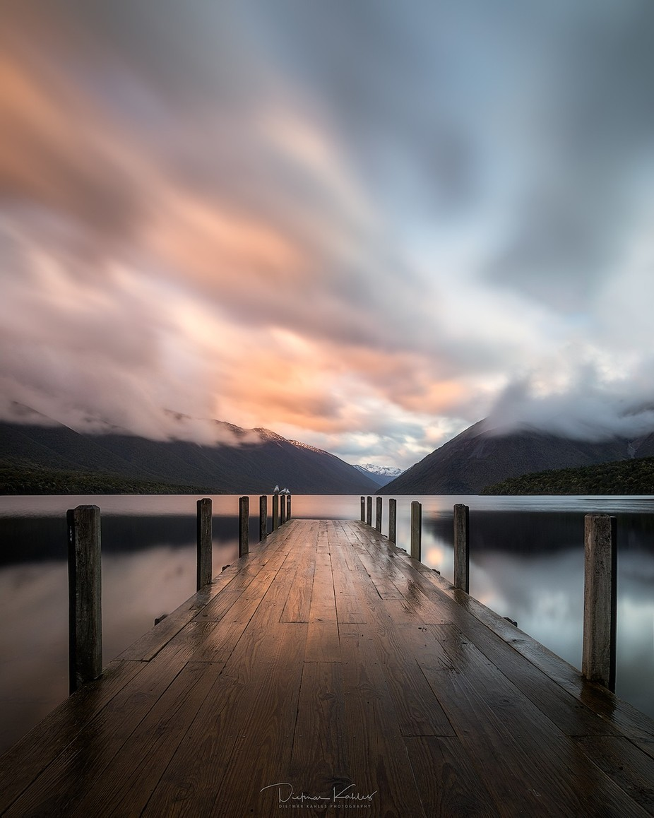 Lake Rotoiti, New Zealand by lake_of_tranquility - Composition And Leading Lines Photo Contest