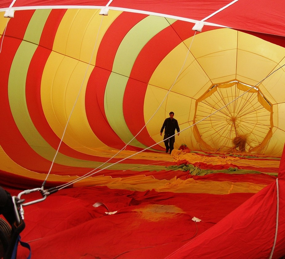 Annual balloon event in Canberra, Australia