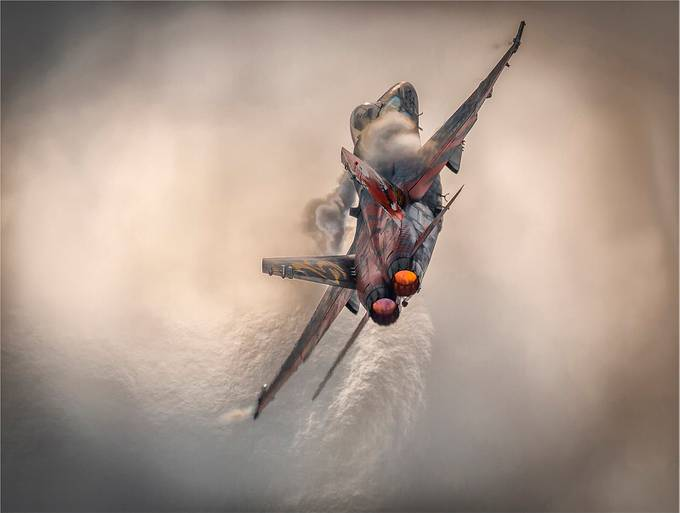 F18 super hornet by Ghersin - Aircraft Photo Contest
