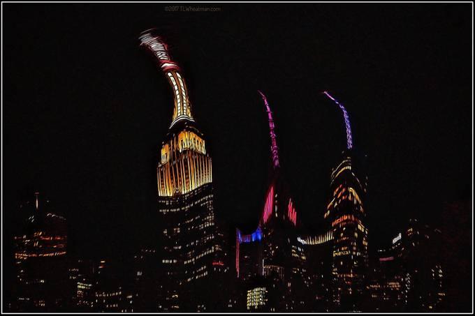 A windy night in Gotham.