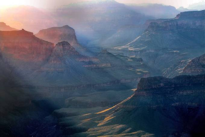 Morning in Grand Canyon