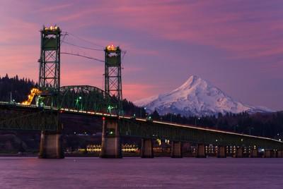 Hood River/White Salmon Bridge, Oregon