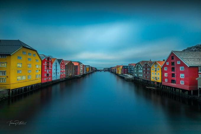 Nidelven river  by TommyRamone - Canals Photo Contest