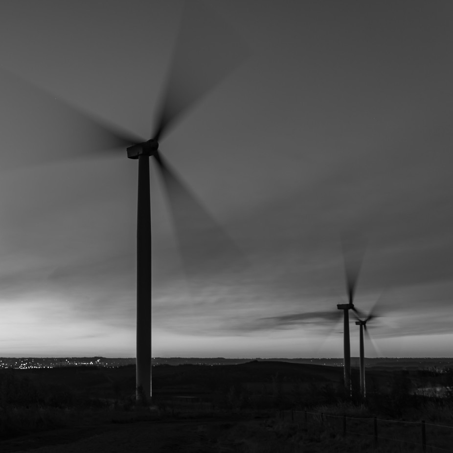 Turbines by Ianslens - Windmills Photo Contest
