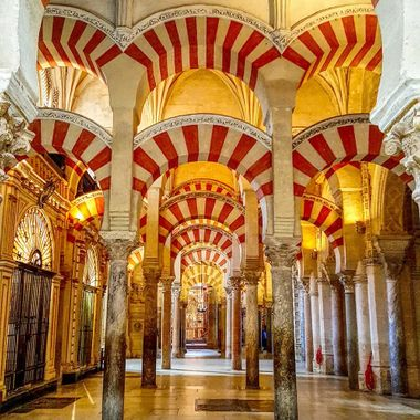 I took this photo at Cordoba. Me and my wife were on our way to Seville for a conference and we stopped at Cordoba to see the half Mosque half Cathedral. This was one of the photos that I took that day.
