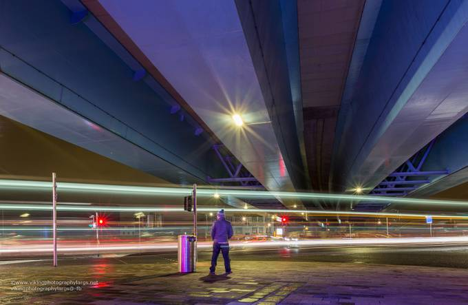 City Light Trails by marklynch - Urban Captures Photo Contest