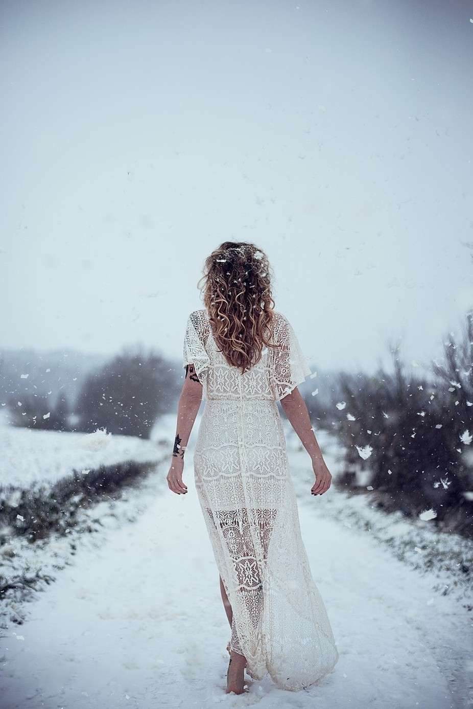 Snow. by sollenaphotography - Weddings And Fashion Photo Contest