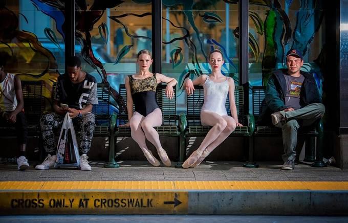 Opposites by dakoch - Public Transport Hubs Photo Contest