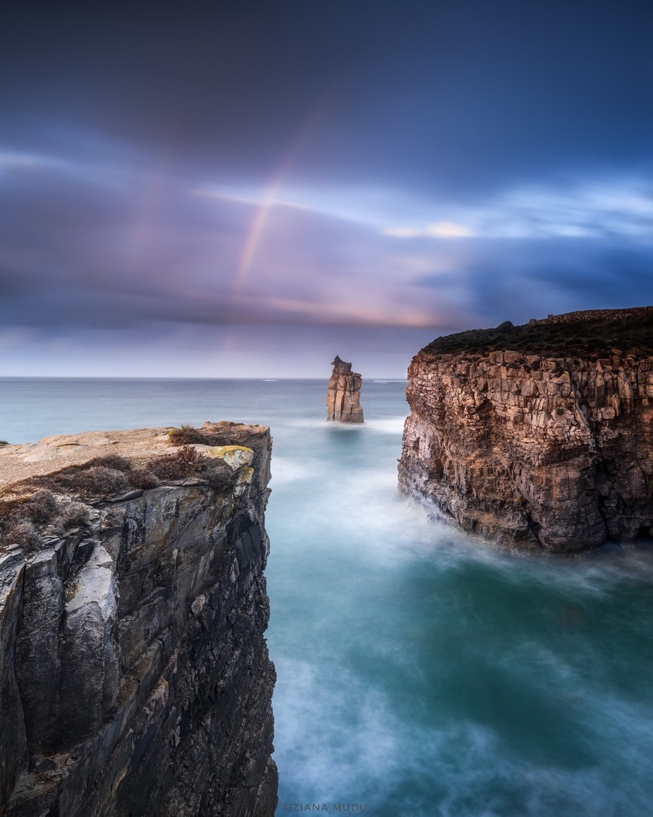 The rainbow by tizianamudu - Winter Long Exposures Photo Contest