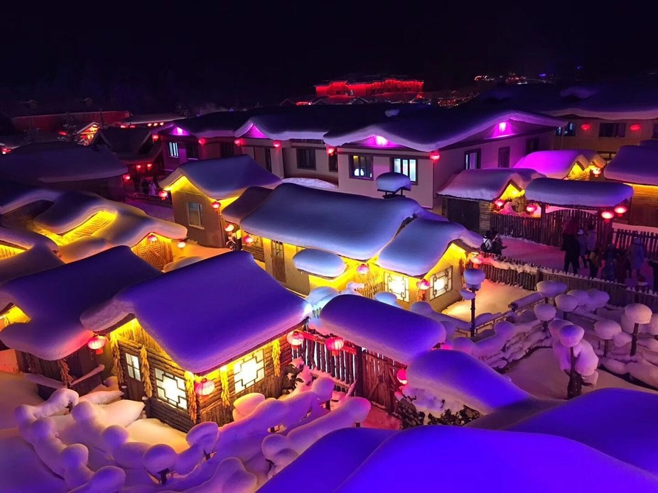 Another shot from the northern point of China. It looks like a fairytale.  Heilongjiang, China. L...