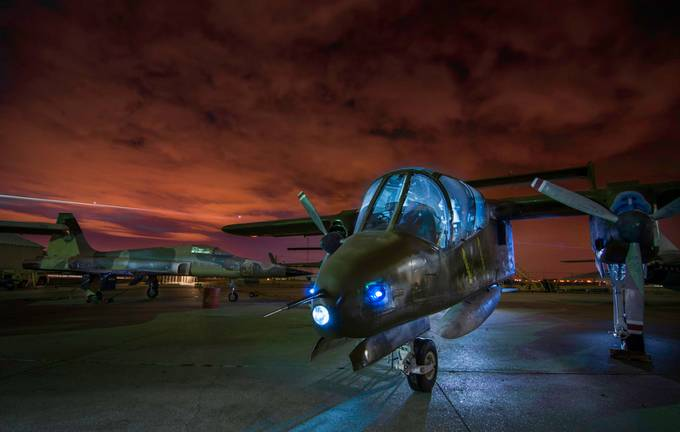 Night of  the Bronco by jamesnelms - Aircraft Photo Contest