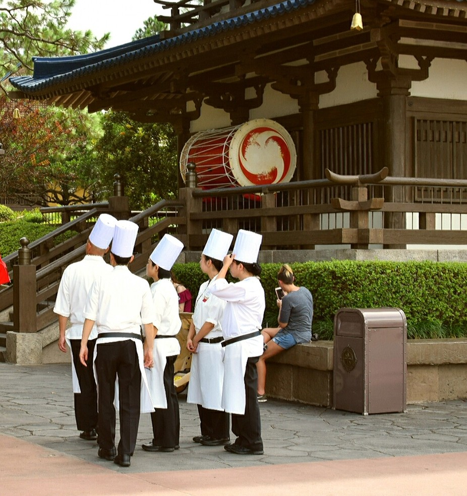 Japan, Chefs andDrums
