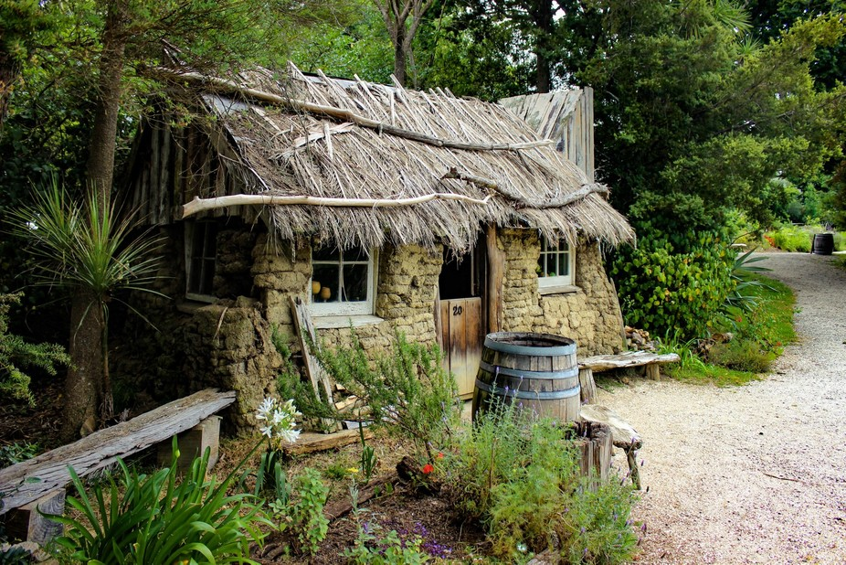 1800's cottage - Taken at the Howick Historical Village, Auckland, New Zealand