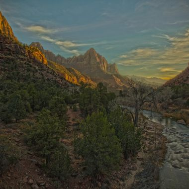 Zion National Park, Sunset