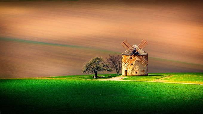 Enjoy the Silence by Jeso - Windmills Photo Contest