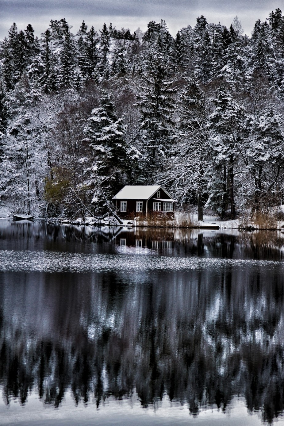 Reflection  by Tessan - Towns In The Winter Photo Contest