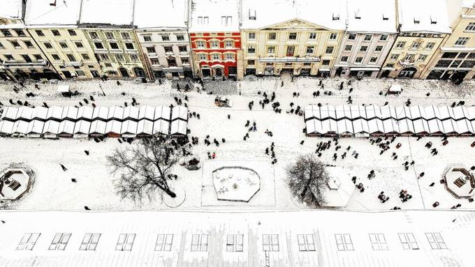 Geometry of Lviv by Oleg_Dashkov - Towns In The Winter Photo Contest