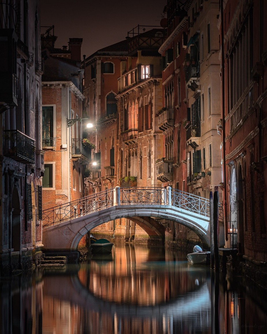 As Venice Sleeps by mindz.eye - Architecture And Reflections Photo Contest