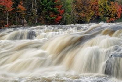 cascading...local river