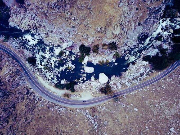 The scenic route  by KEnagonio - Winter Roads Photo Contest