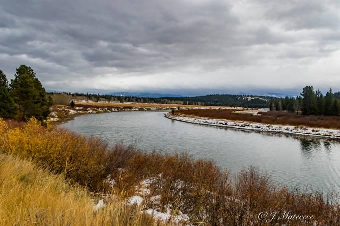 River Through The Grand Tetons National Park 2