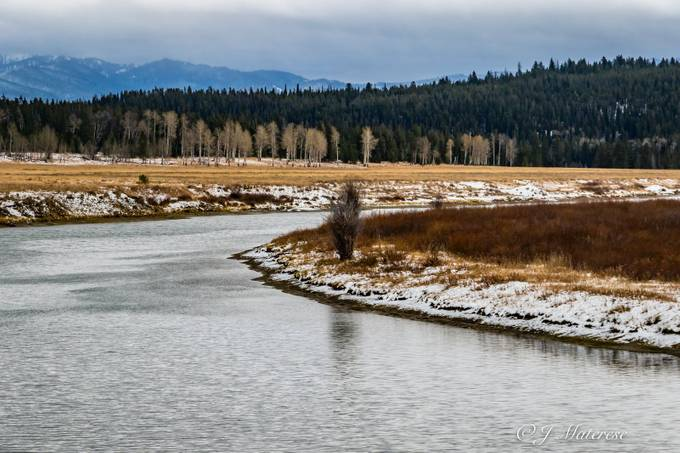 River Through The Grand Tetons National Park 3