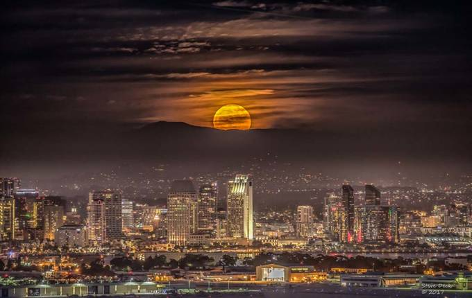 San Diego Super Moon by Steve_Deck - Social Exposure Photo Contest Vol 13