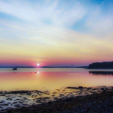 Dawn on Frenchman Bay