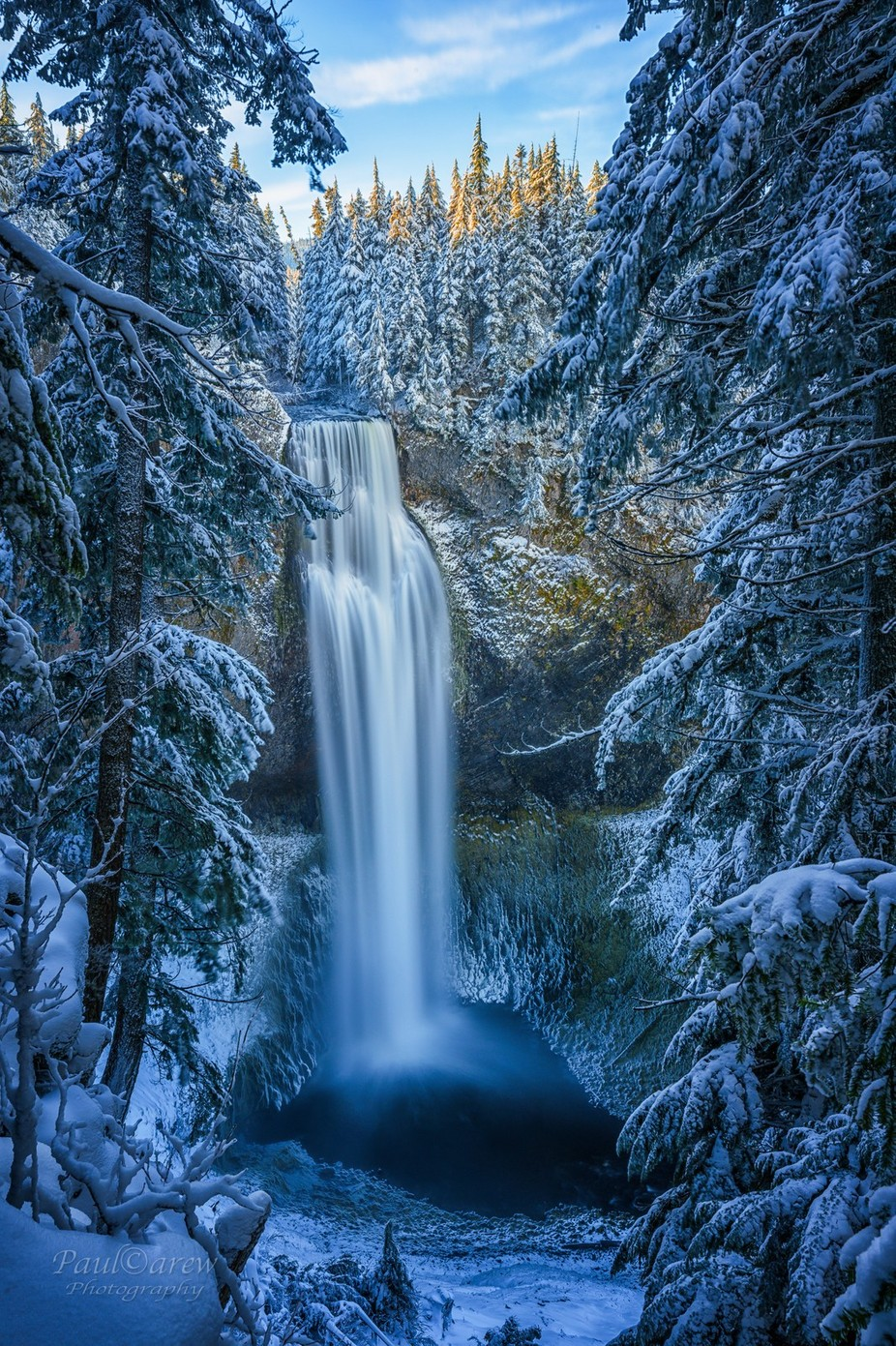 Salt Creek Falls by paulcarew - Monthly Pro Vol 37 Photo Contest
