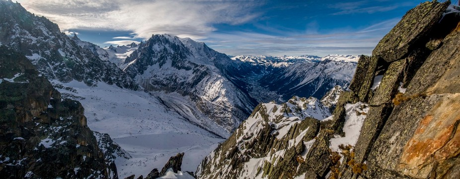 The birthplace of modern mountaineering. Chamonix, France