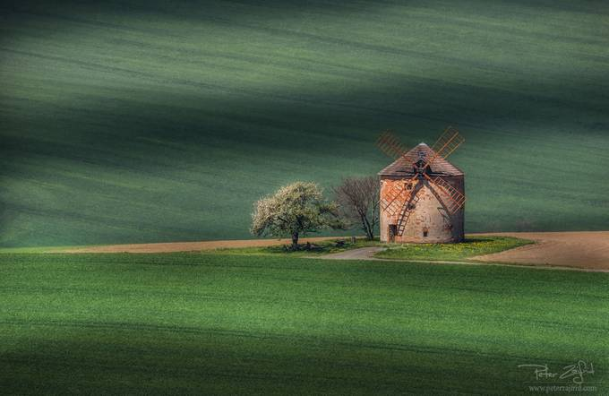The mill by saintek - Windmills Photo Contest