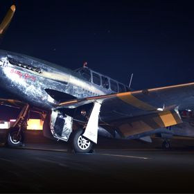 P-51 Mustang Ready for Flight