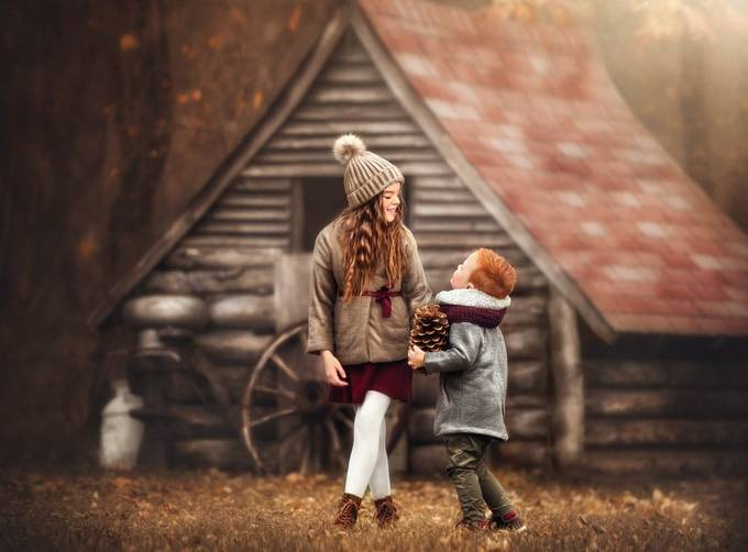 Jolly and Joyous  by emwillphotos - The Brown Color Photo Contest