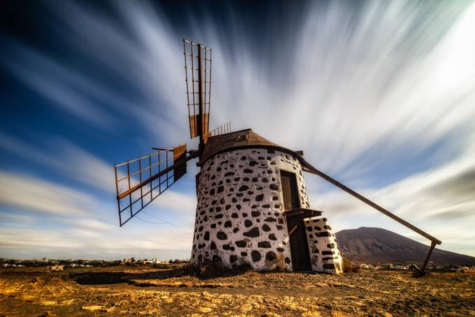 frozen by RiccardoMantero - Windmills Photo Contest