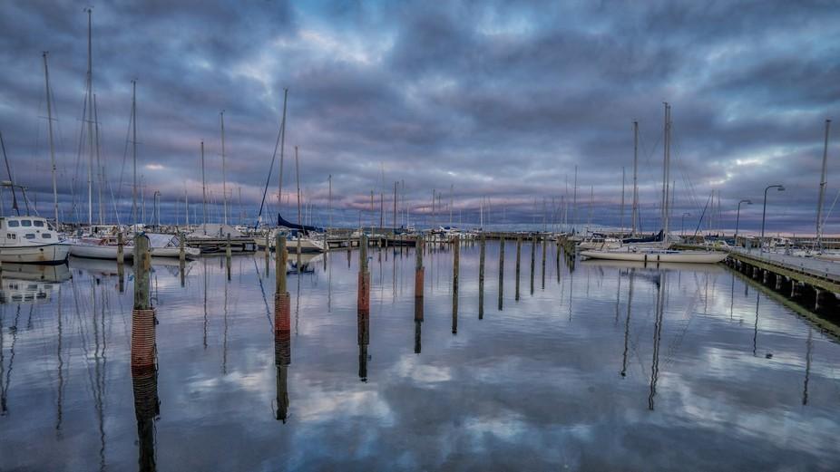 November Sunset at Marina