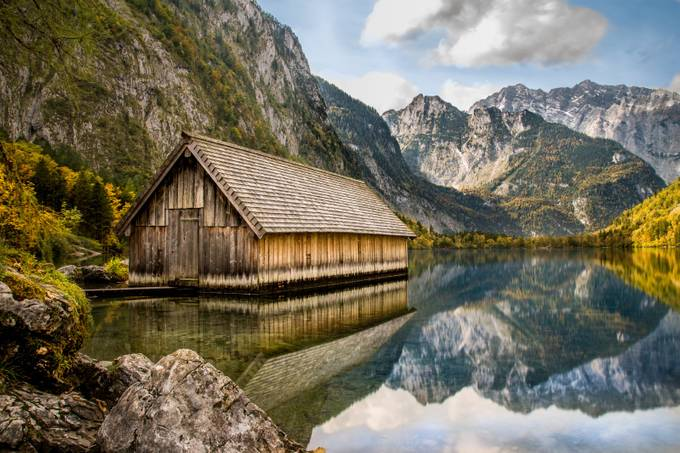 Mountain Lake Cabin by Bastiaan - Covers Photo Contest Vol 44