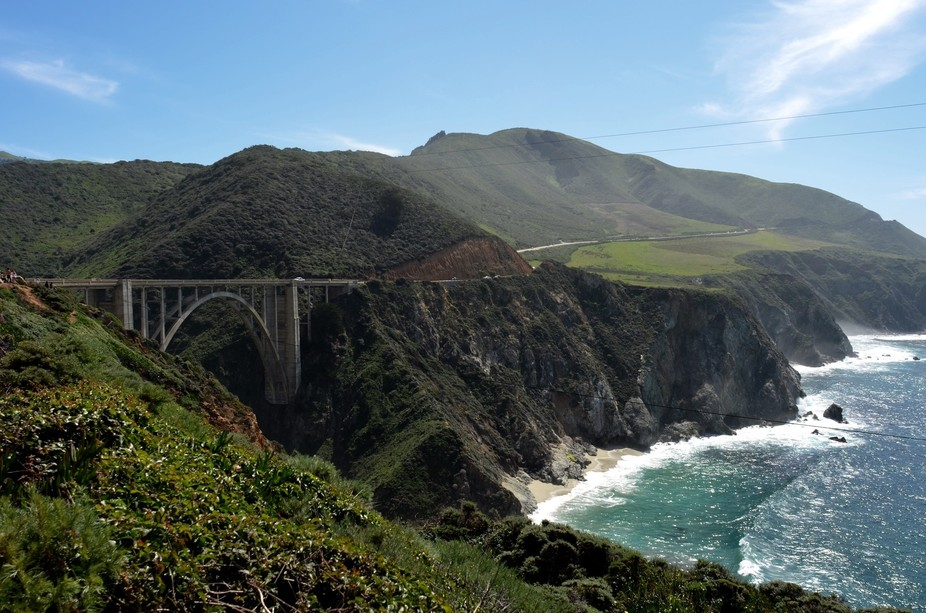 One of the iconic views on our west coast road trip.