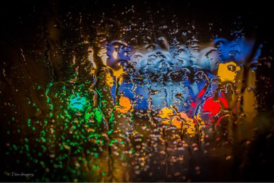 Light through the rain