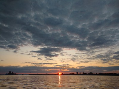 sunset on TRCity