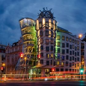 The Dancing House is one of the most interesting Prague houses built at the end of the 20 th century. The frontispiece consists of two towers tha...
