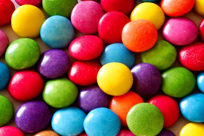 Colourful Candy Macro