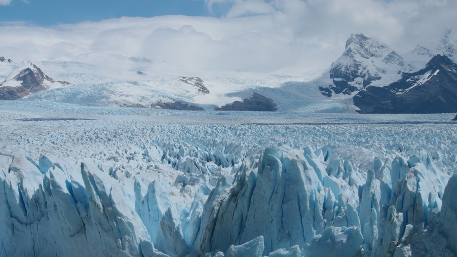 Patagonia. Argentina. It is impossible to chapter this endless, never-ending apace and power of t...